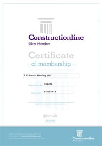 Constructionline Certificate 2018